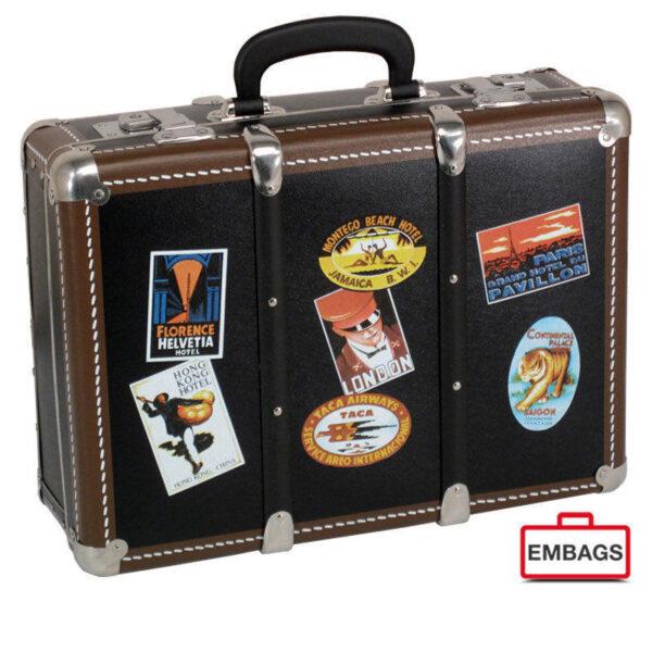 Nostalgiekoffer Le Tour Du Monde 2 - Alukoffer Onlineshop Embags
