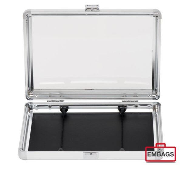 Präsentationskoffer Alu Mappe S TR 2 - Alukoffer Onlineshop Embags
