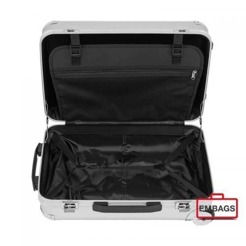 Alu-Boardcase silber offen Art. Nr. 0458