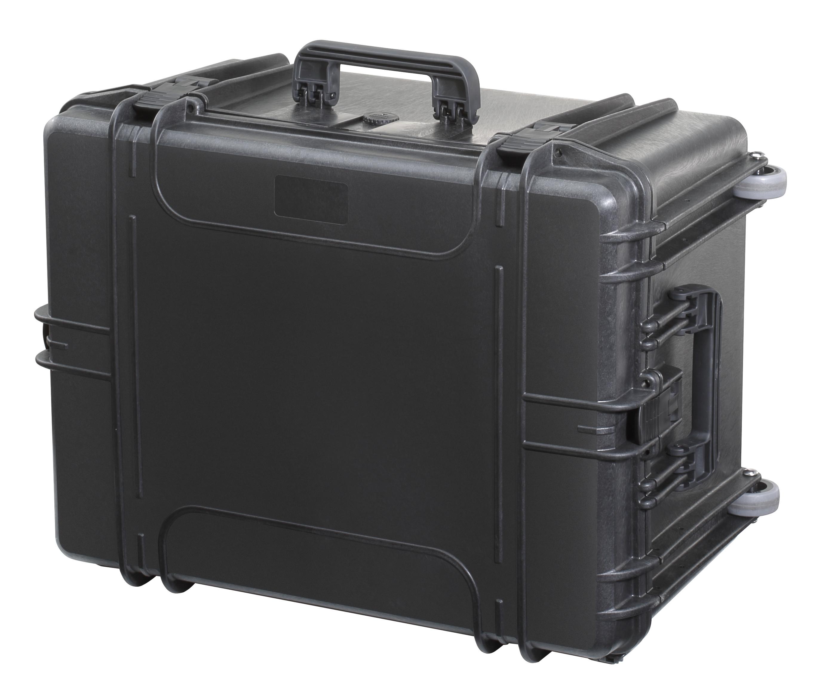 tectra eco 620h mit trolley schwarz schaumstoff embags onlineshop aluminiumkoffer und. Black Bedroom Furniture Sets. Home Design Ideas
